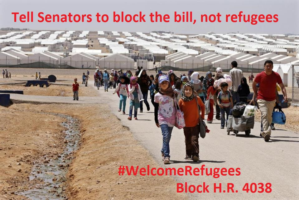 House votes to discriminately block Syrian & Iraqi refugees
