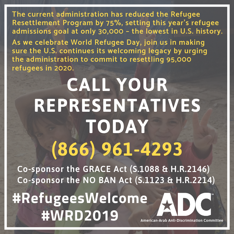 ACTION ALERT: This World Refugee Day, Tell Congress to Welcome Refugees